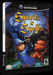 Spirits & Spells GameCube cover (G2PE6U)