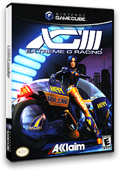XGIII: Extreme G Racing GameCube cover (G3EE51)