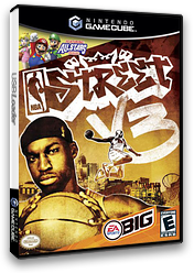 NBA Street Vol.3 GameCube cover (G3VE69)