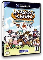 Harvest Moon: Magical Melody GameCube cover (G4AEE9)