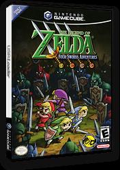 The Legend of Zelda: Four Swords Adventures GameCube cover (G4SE01)