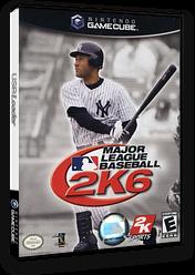 Major League Baseball 2k6 GameCube cover (G62E54)