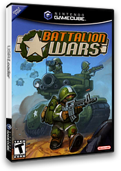 Battalion Wars GameCube cover (G8WE01)