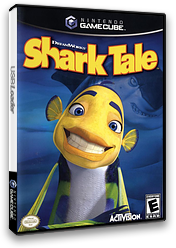Shark Tale GameCube cover (G9TE52)