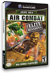 Army Men: Air Combat The Elite Missions GameCube cover (GACE5H)