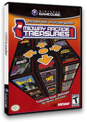 Midway Arcade Treasures GameCube cover (GAKE5D)