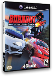 Burnout 2: Point of Impact GameCube cover (GB4E51)