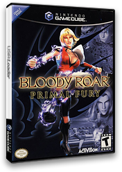 Bloody Roar: Primal Fury GameCube cover (GBLE52)