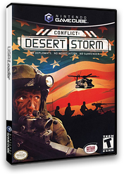 Conflict: Desert Storm GameCube cover (GCFE9G)