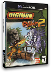Digimon Rumble Arena 2 GameCube cover (GD6EB2)