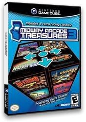 Midway Arcade Treasures 3 GameCube cover (GE3E5D)