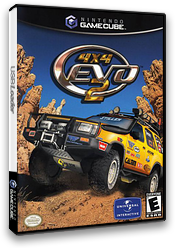 4x4 Evo 2 GameCube cover (GE4E7D)