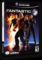 Fantastic 4 GameCube cover (GF4E52)