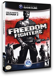 Freedom Fighters GameCube cover (GFDE69)