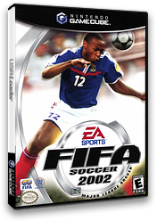 FIFA Soccer 2002 GameCube cover (GFSE69)
