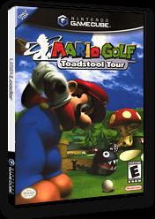 Mario Golf: Toadstool Tour GameCube cover (GFTE01)