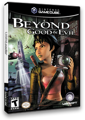 Beyond Good & Evil GameCube cover (GGEE41)