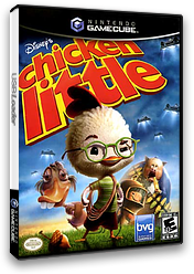 Chicken Little GameCube cover (GHCE4Q)