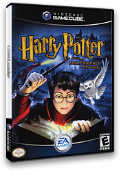 Harry Potter and the Sorcerer's Stone GameCube cover (GHLE69)