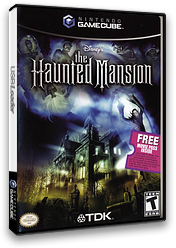 The Haunted Mansion GameCube cover (GHYE6S)