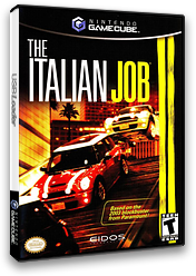 The Italian Job GameCube cover (GIBE4F)