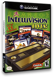 Intellivision Lives GameCube cover (GIVE4Z)