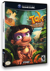 Tak and the Power of Juju GameCube cover (GJUE78)