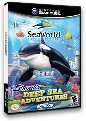 SeaWorld Adventure Parks: Shamu's Deep Sea Adventures GameCube cover (GJZE52)