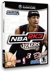 NBA 2K3 GameCube cover (GK3E8P)