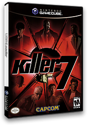Killer7 GameCube cover (GK7E08)