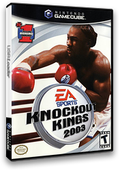 Knockout Kings 2003 GameCube cover (GKKE69)