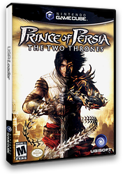 Prince of Persia: The Two Thrones GameCube cover (GKME41)