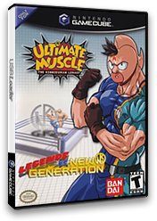 Ultimate Muscle: Legends vs. New Generation GameCube cover (GKNEB2)