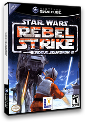 Star Wars Rogue Squadron III: Rebel Strike GameCube cover (GLRE64)