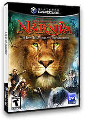 The Chronicles of Narnia: The Lion Witch and the Wardrobe GameCube cover (GLVE4Q)