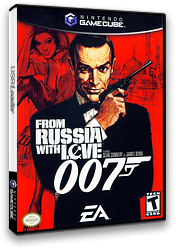 007: From Russia With Love GameCube cover (GLZE69)