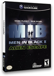 Men In Black II:  Alien Escape GameCube cover (GMEE70)