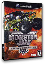 Monster Jam: Maximum Destruction GameCube cover (GMJE41)