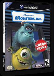 Monsters, Inc. Scream Arena GameCube cover (GMNE78)