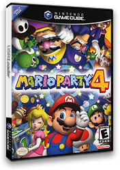 Mario Party 4 GameCube cover (GMPE01)