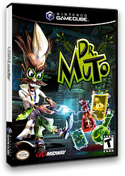Dr. Muto GameCube cover (GMUE5D)