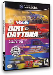 Nascar: Dirt To Daytona GameCube cover (GN2E70)