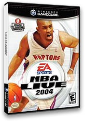 NBA Live 2004 GameCube cover (GN8E69)