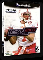 NCAA College Football 2K3 GameCube cover (GNAE8P)