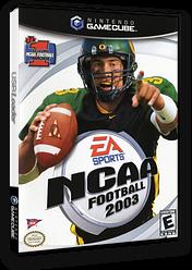 NCAA Football 2003 GameCube cover (GNGE69)