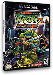 Teenage Mutant Ninja Turtles 2: Battle Nexus GameCube cover (GNIEA4)