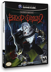Blood Omen 2: The Legacy of Kain Series GameCube cover (GO2E4F)