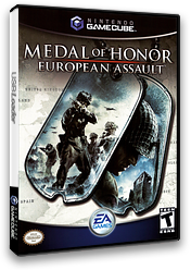 Medal of Honor: European Assault GameCube cover (GONE69)