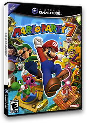 Mario Party 7 GameCube cover (GP7E01)