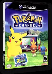 Pokémon Channel GameCube cover (GPAE01)